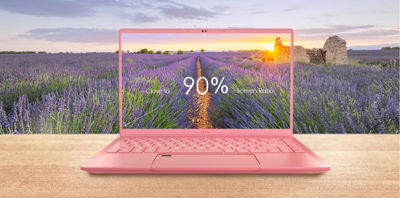 Notebook MSI Prestige 14 Pink