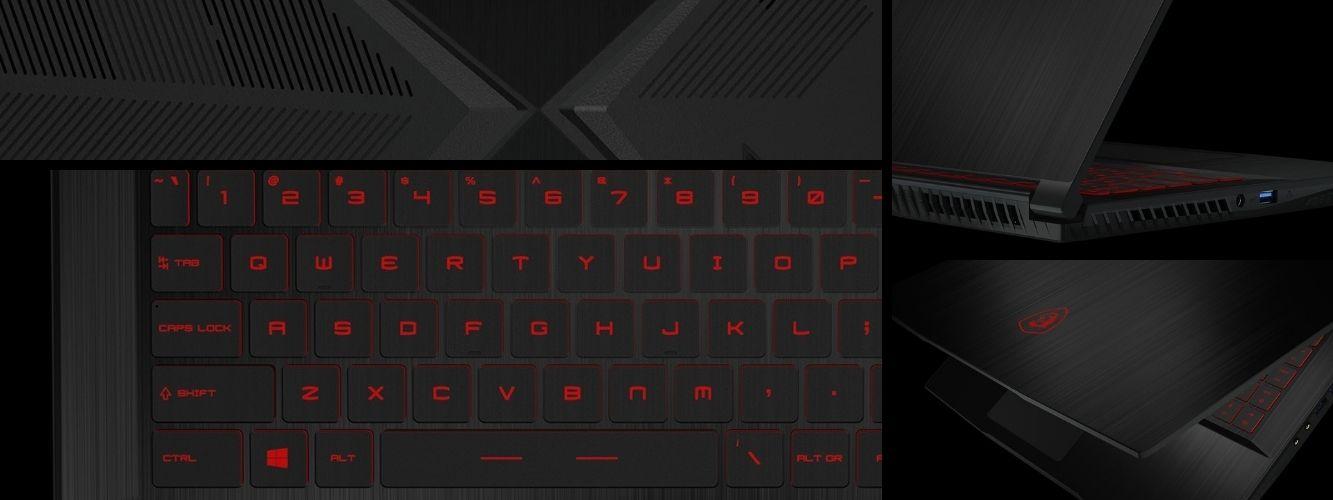 MSI GF63 Thin herný notebook s tenkým dizajnom
