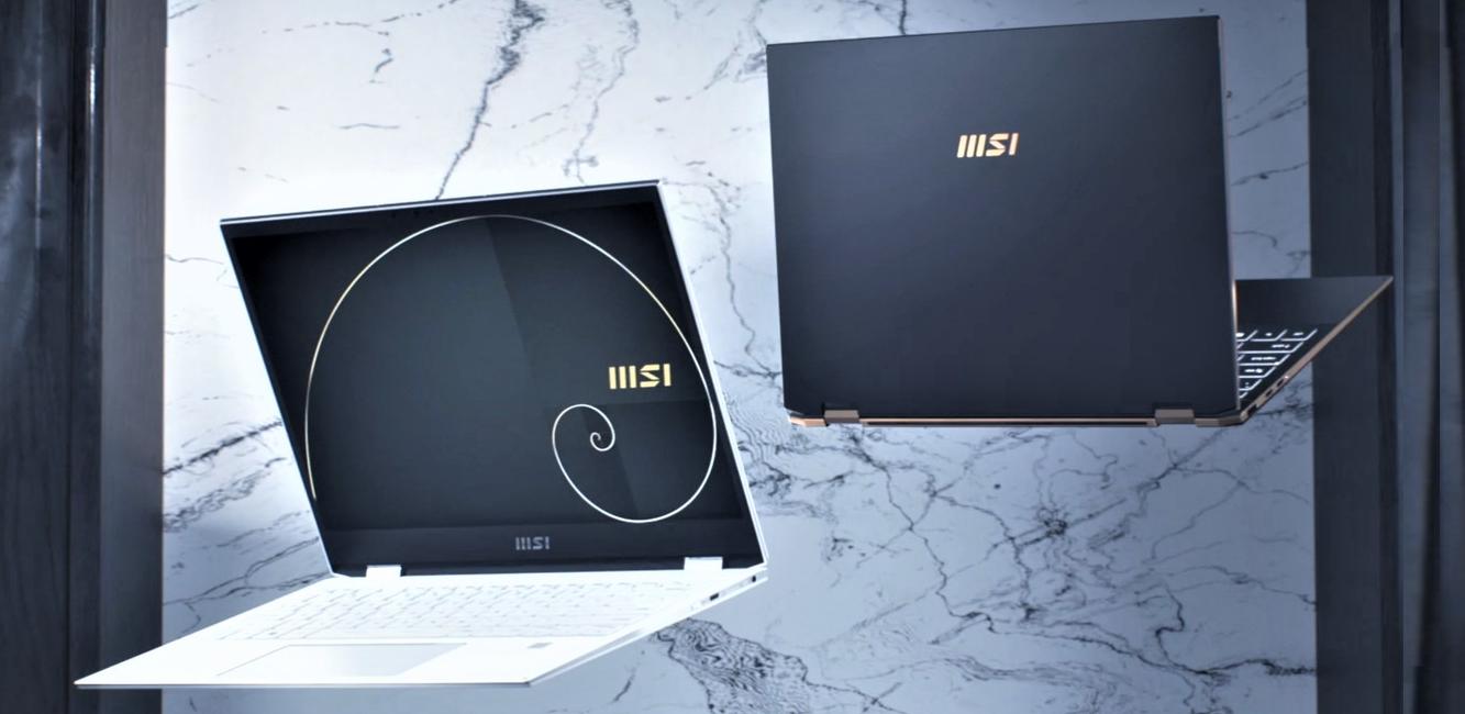 Biznis notebook MSI Summit Flip