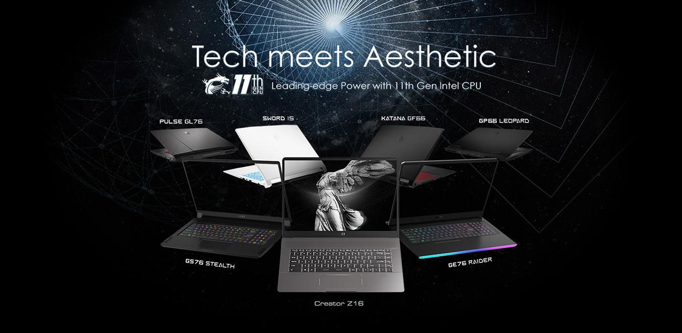 Tech meets aesthetic - nové notebooky pre hranie a grafiku od MSI