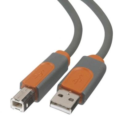 BELKIN USB 2.0 A - USB 2.0 B prepojovací kábel M/M 4,8m prémiový