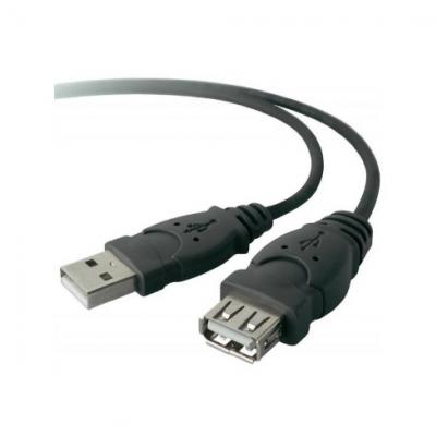 USB 2.0 A - USB 2.0 A predlžovací kábel M/F 3m