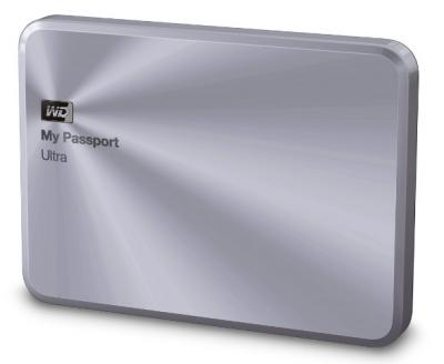 """Western Digital Externý disk 2.5"""" My Passport Ultra Metal 1TB USB3.0"""