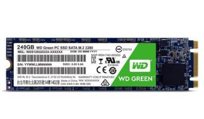 Western Digital SSD M.2 240GB Green series 2280 Sata