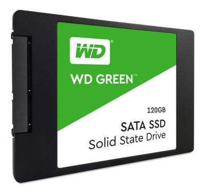 "Western Digital SSD 2,5"" 120GB Green 3D NAND"