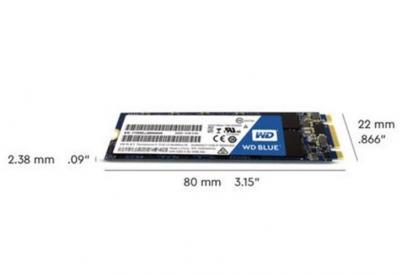 Western Digital SSD M.2 PCIe 1TB Black NVMe