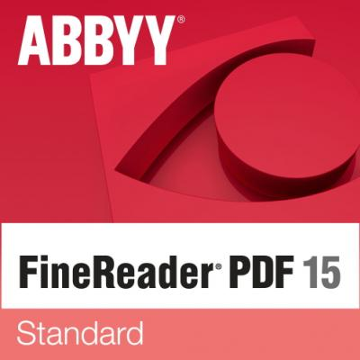 ABBYY FineReader PDF 15 Standard Single User License (ESD) EDU Perpetual