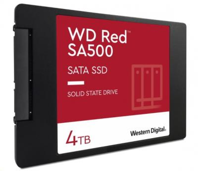 Western Digital SSD 2.5 4TB Red 3D NAND