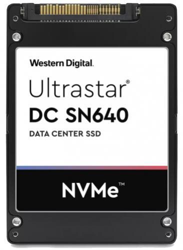 "Western Digital SSD 2,5"" 7,6TB Ultrastar DC SN640 U.2 PCIe NVMe"