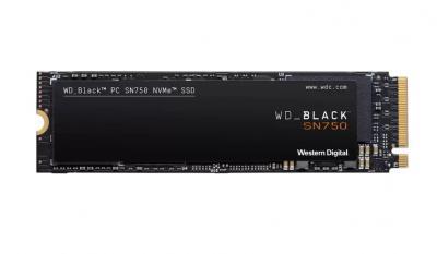 Western Digital SSD M.2 PCIe 250GB Black SN750 NVMe