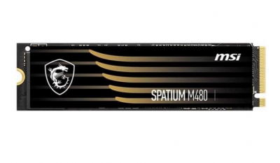 MSI SSD M.2 PCIe 2TB Spatium M480 NVMe