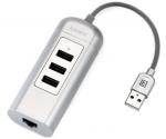 REMAX USB-C Adaptér Cati RU-U4 strieborný