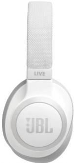 JBL Live 650BTNC slúchadlá biele