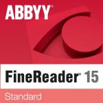 ABBYY FineReader 15 Standard Single User License (ESD) 12 mesiacov 51 - 100 licencií