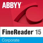 ABBYY FineReader 15 Corporate Single User License (ESD) 12 mesiacov 21 - 30 licencií
